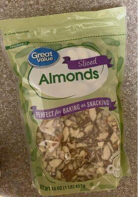 Sliced almonds - Product - en