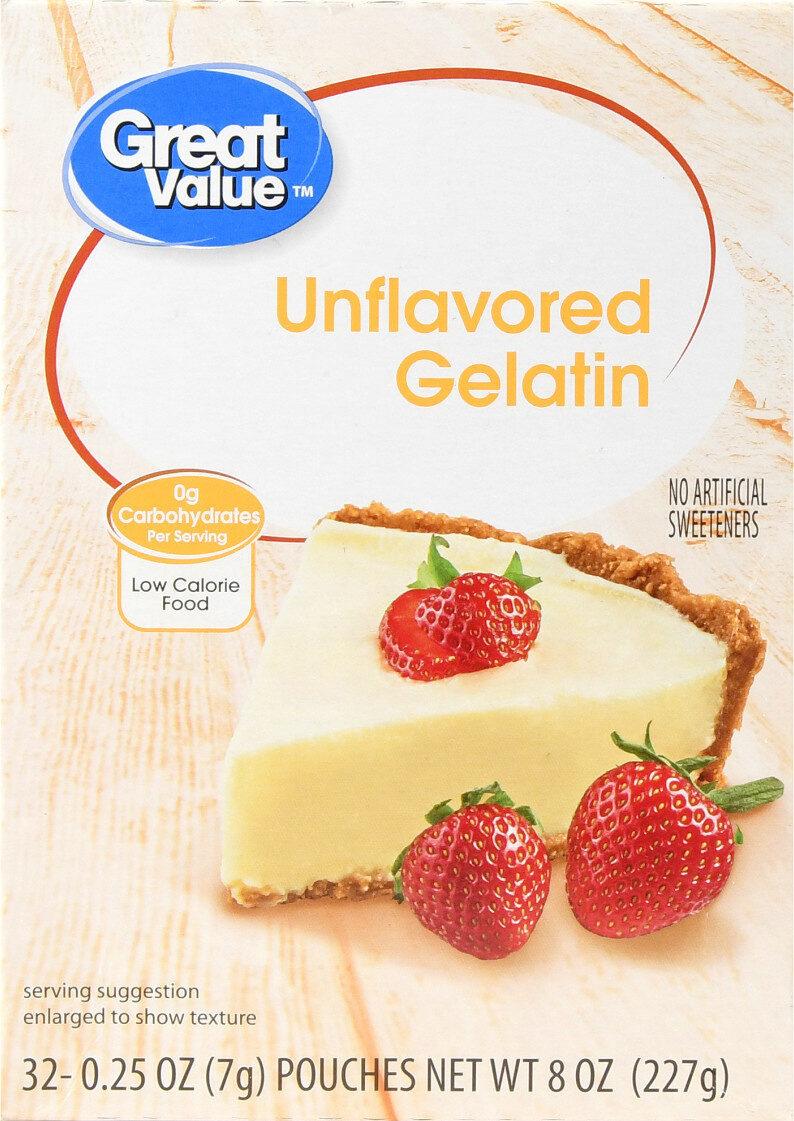 Unflavored gelatin - Product - en
