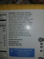 beef taquitos - Ingrediënten - en