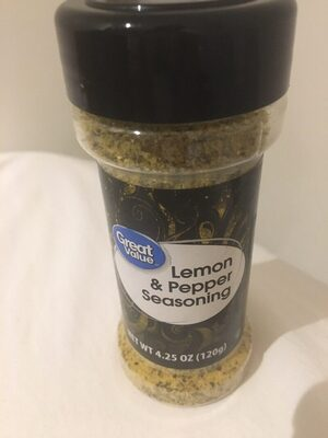 Lemon & pepper seasoning - Producto - es