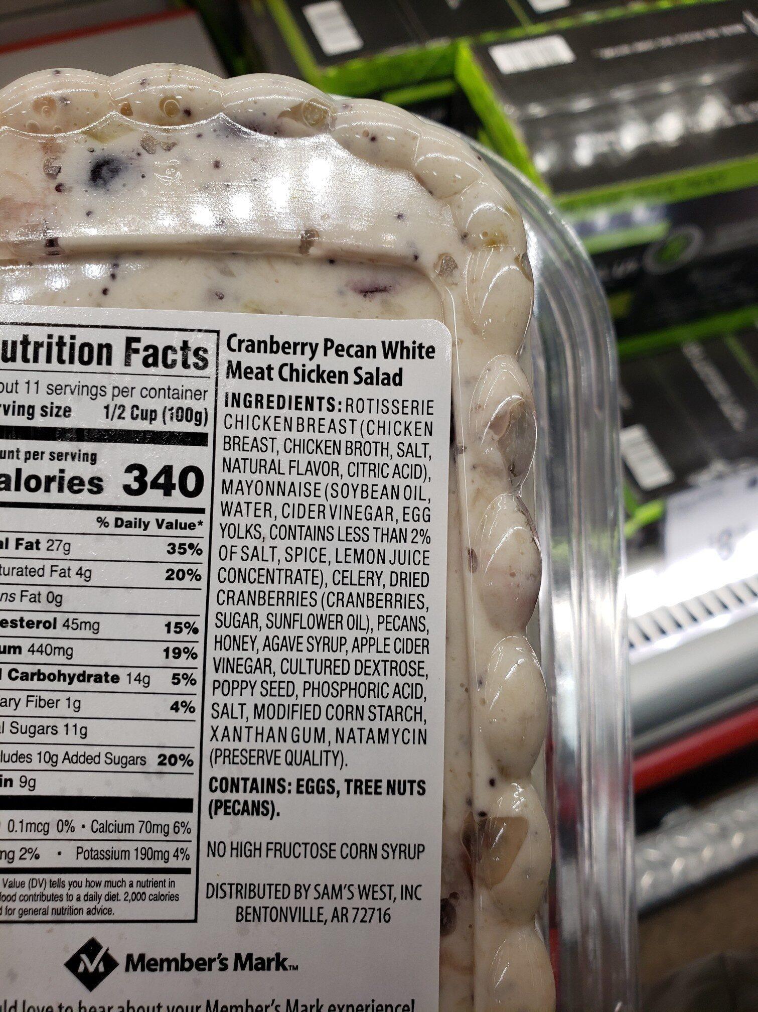 chicken salad - Ingrediënten - en