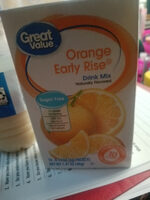Drink Mix, Orange Early Rise - Product