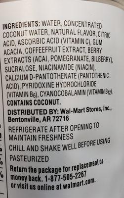 Essentials Coconut - Ingredients - en