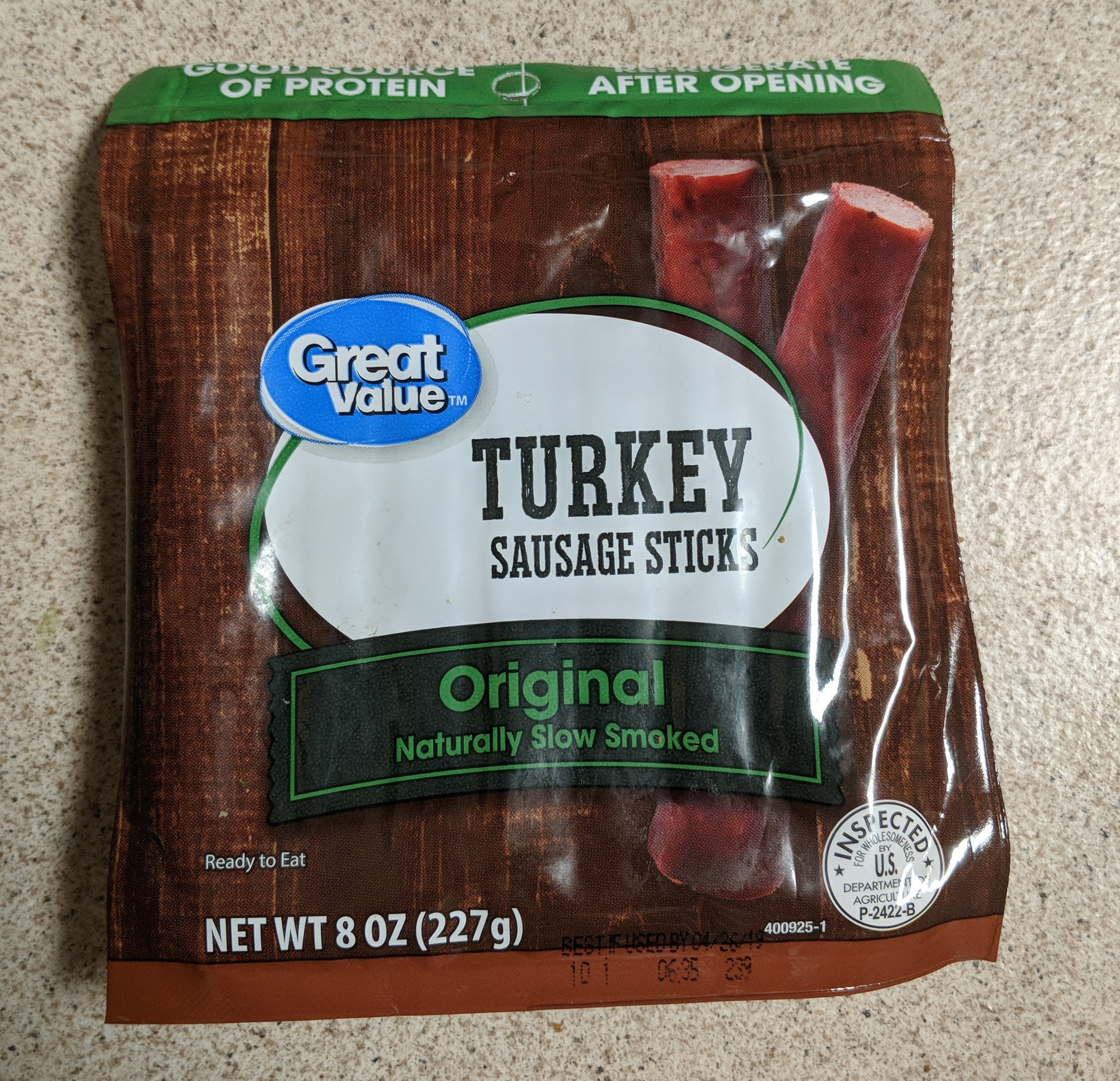 Turkey Sausage Sticks - Product - en