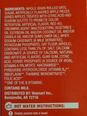 Strawberries ans cream oatmeal - Ingredients - en