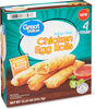 White meat chicken egg rolls - Product
