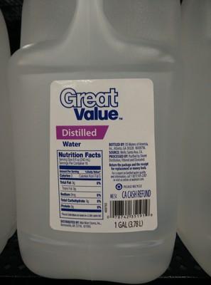 Distilled Water - 1