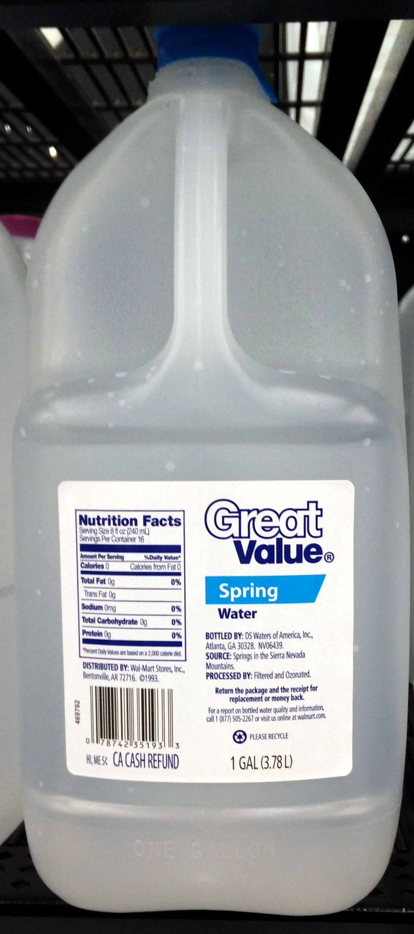 Spring Water - Product - en