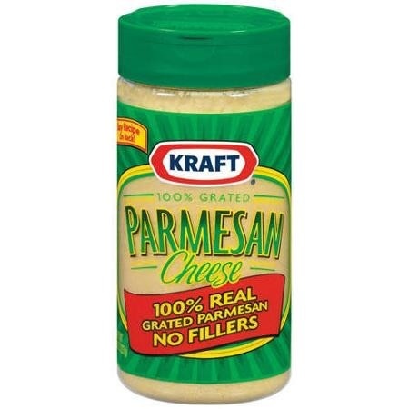 Great Value: 100% Parmesan Grated Cheese, - Product