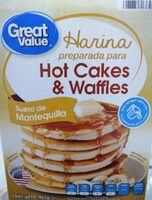 Great value, buttermilk complete pancake & waffle mix - Producte - en