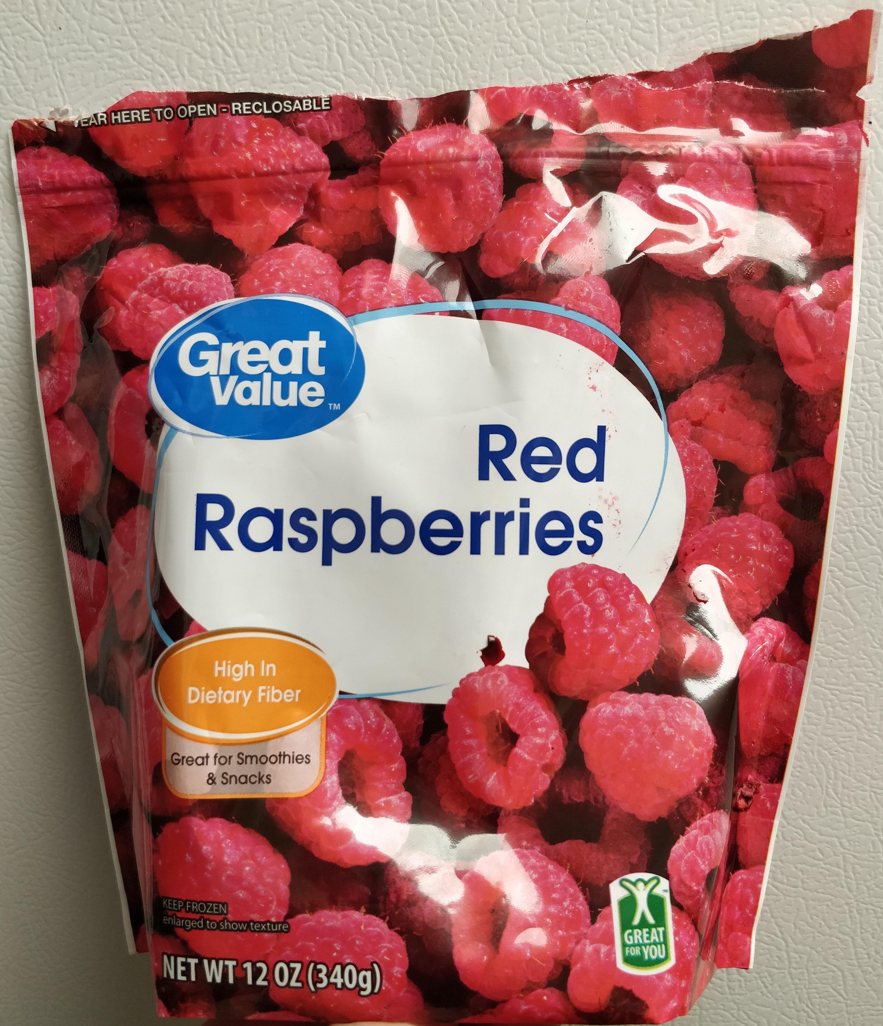 Red Raspberries - Produit - en