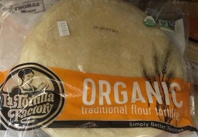 Organic traditional flour tortillas - Product - en