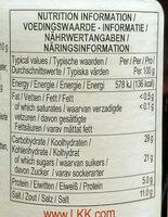 Premium Oyster Sauce - 营养成分 - en