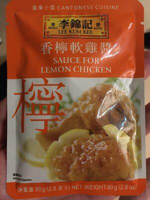 Sauce For Lemon Chicken - Produit - en