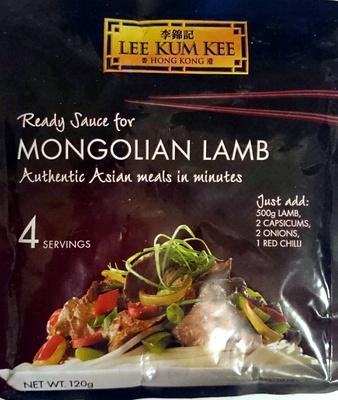 Ready Sauce for Mongolian Lamb - Product - en