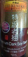 Premium dark soy sauce - Product - de