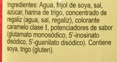 Soy Sauce - Ingredientes - es