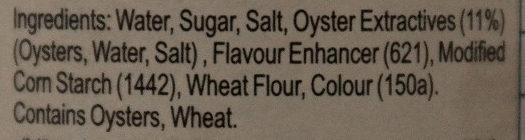 Oyster sauce - Ingredients - en