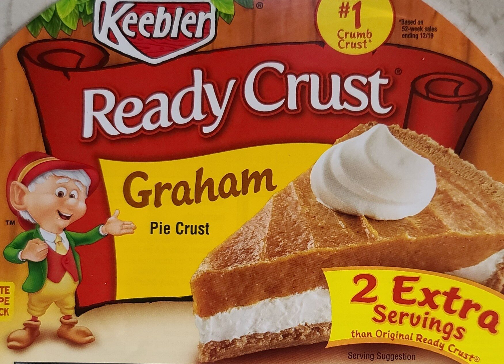 Graham pie crust - Produit - en