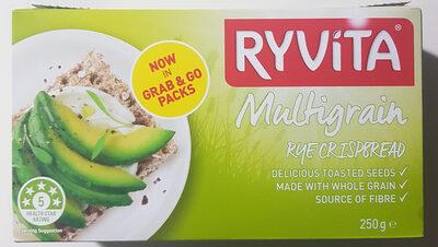 Ryvita Multigrain Rye Crispbread - Product - en