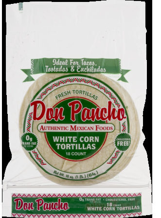 White Corn Tortillas - Product