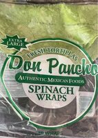 Spinach wraps - Product - en