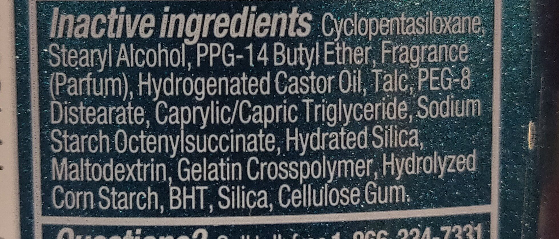 degree - Ingredients - en