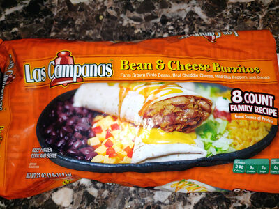 Bean and Chees Burritos - Product - en