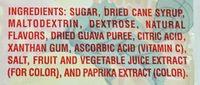 Pass-o-Guava - Ingredients - en