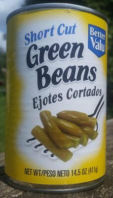 Better valu, short cut green beans - Product - en