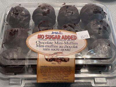 Chocolate Mini-Muffins - Product - en