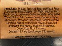 Chocolate Mini-Muffins - Ingredients - en