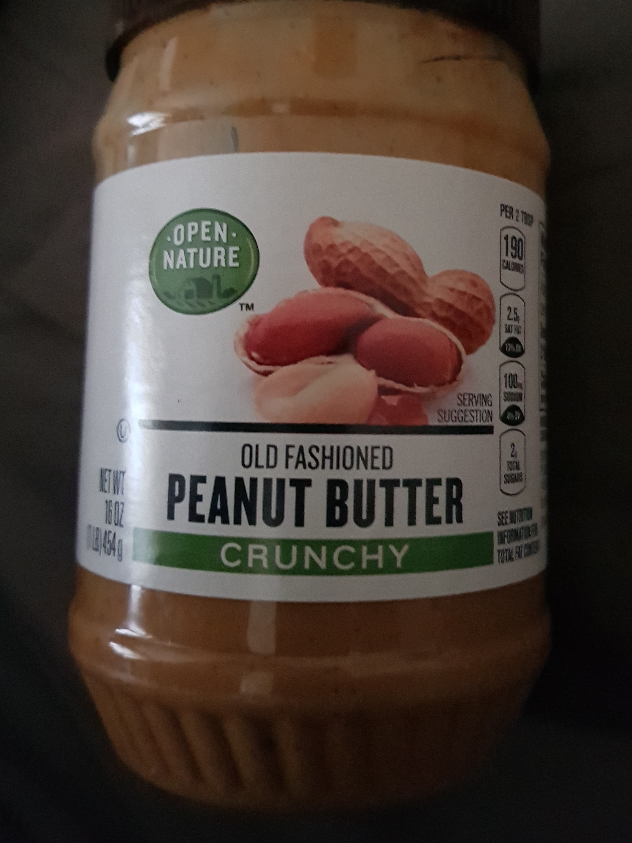 Old Fashioned Crunchy Peanut Butter - Product - en