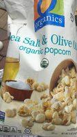 Sea salt & Olive Oil popcorn - Product