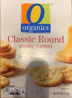 Classic round organic crackers - Product - en