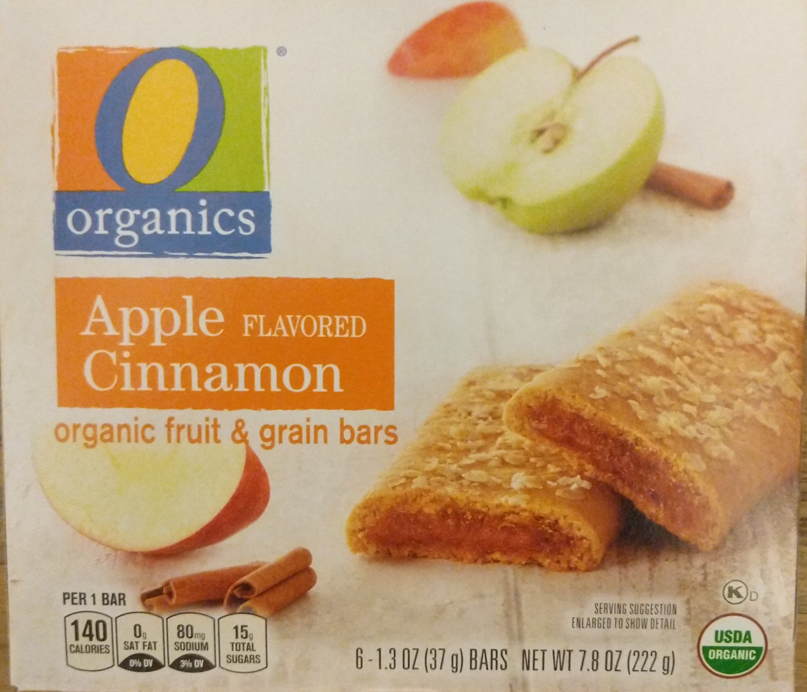 Organic fruit & grain bars - Produit - en