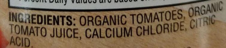No Salt Added Petite Diced Tomatoes in tomato juice - Ingredients - en