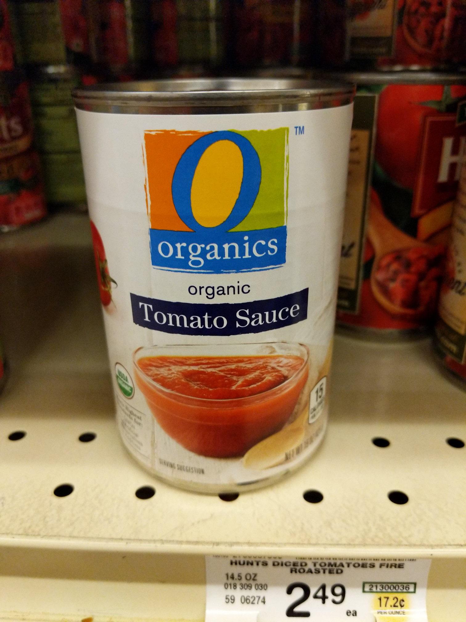 Tomato Sauce - Product