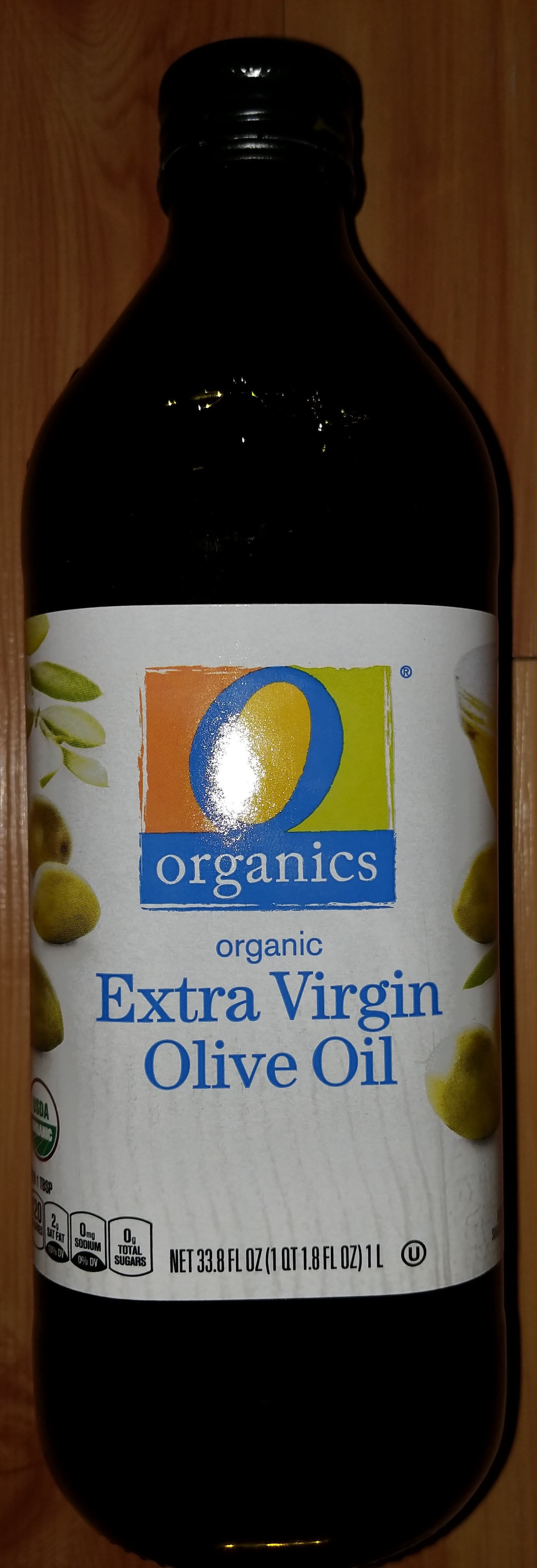 Organic extra virgin olive oil - Product - en