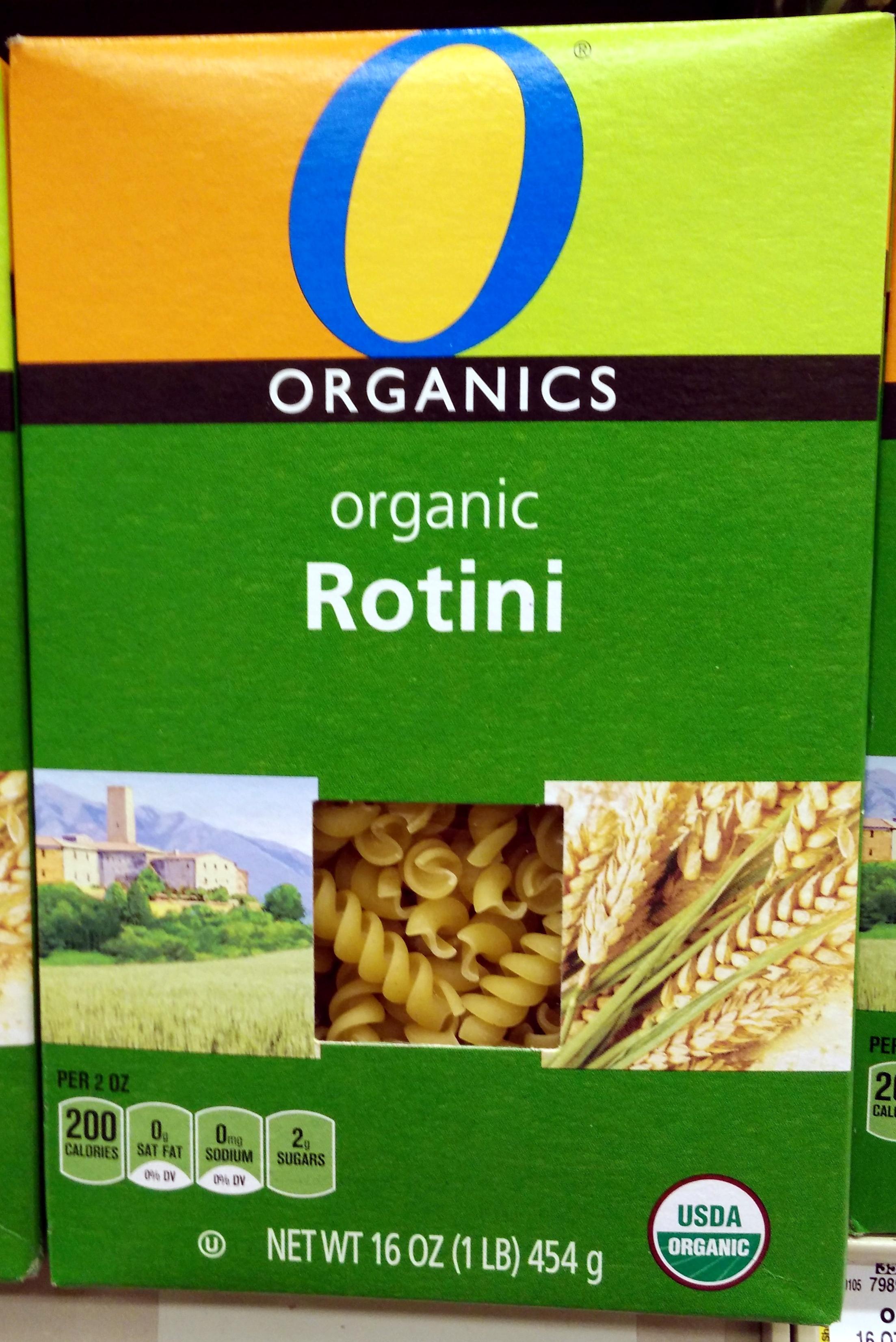 Organic macaroni product, rotini - Product - en
