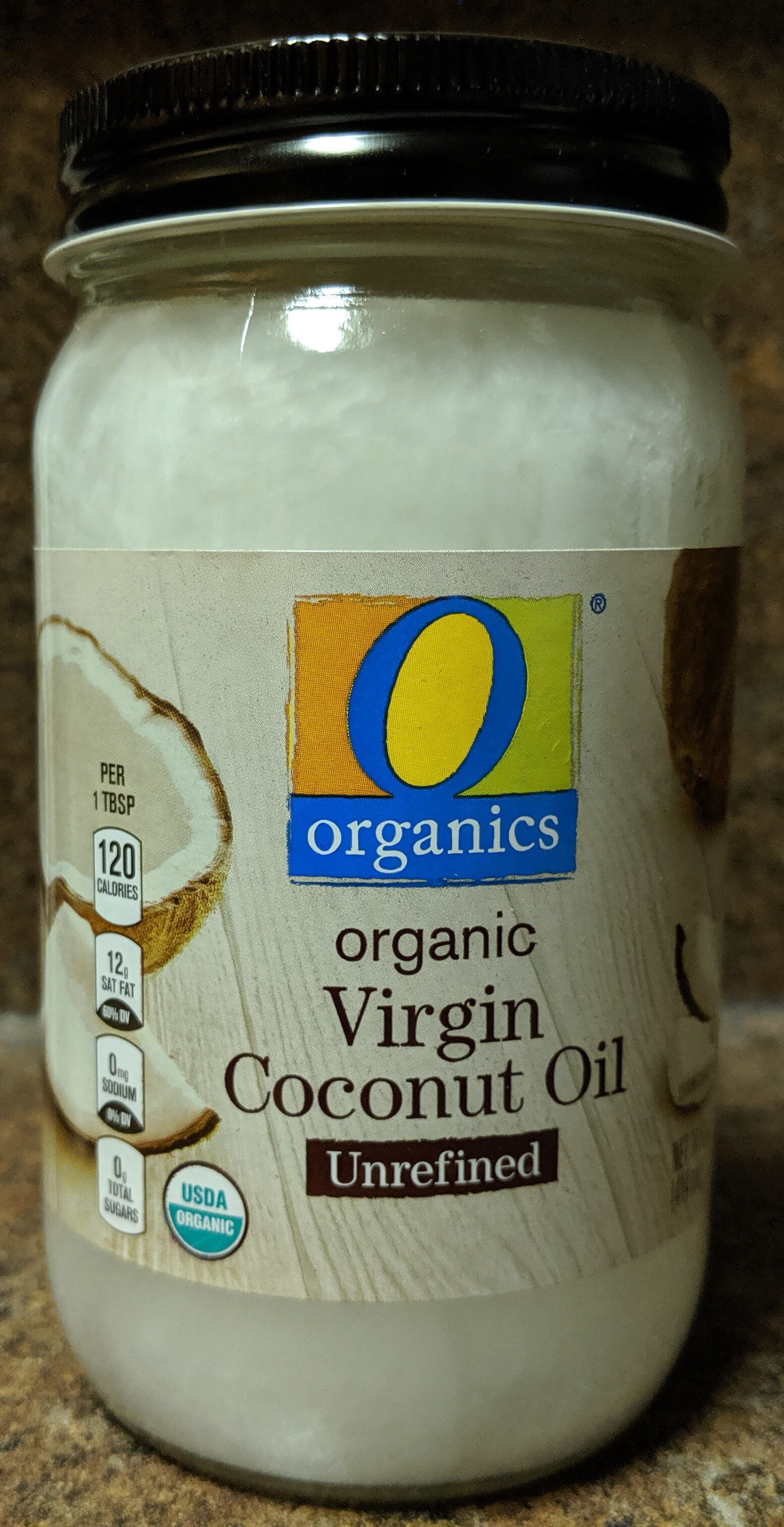 Organic Virgin Coconut Oil Unrefined - Produit - en