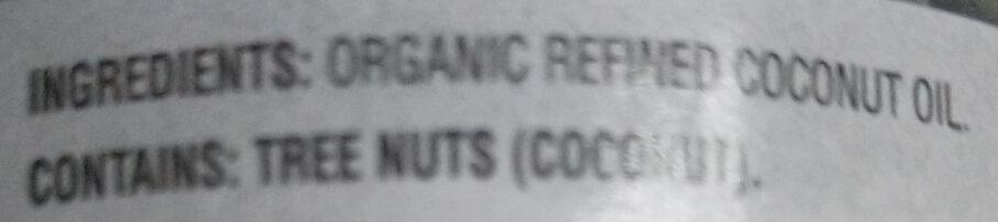 Coconut oil - Ingredients - en