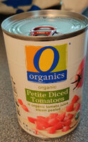 Organic Petite Diced Tomatoes - Product