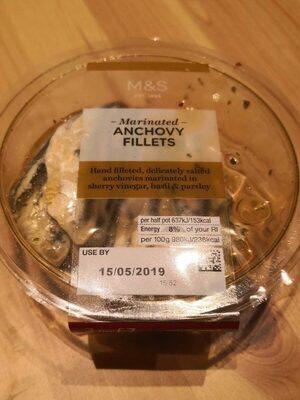 Marinated anchovy fillets - Produit - fr