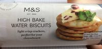 High Bake Water Biscuits - Produit - fr