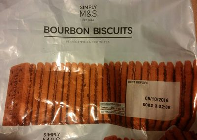 Bourbon Biscuits - Product