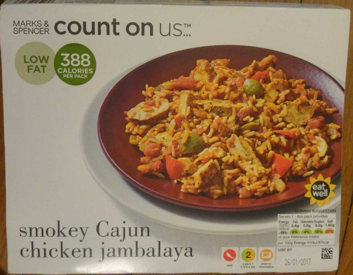 Smokey Cajun chicken Jambalaya - Product