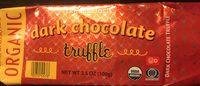 Dark chocolate truffle - Product