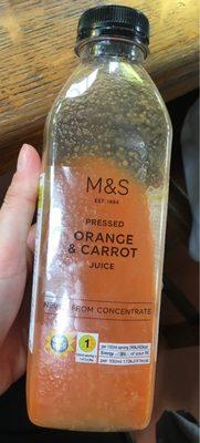 Orange & Carrot Juice - Product