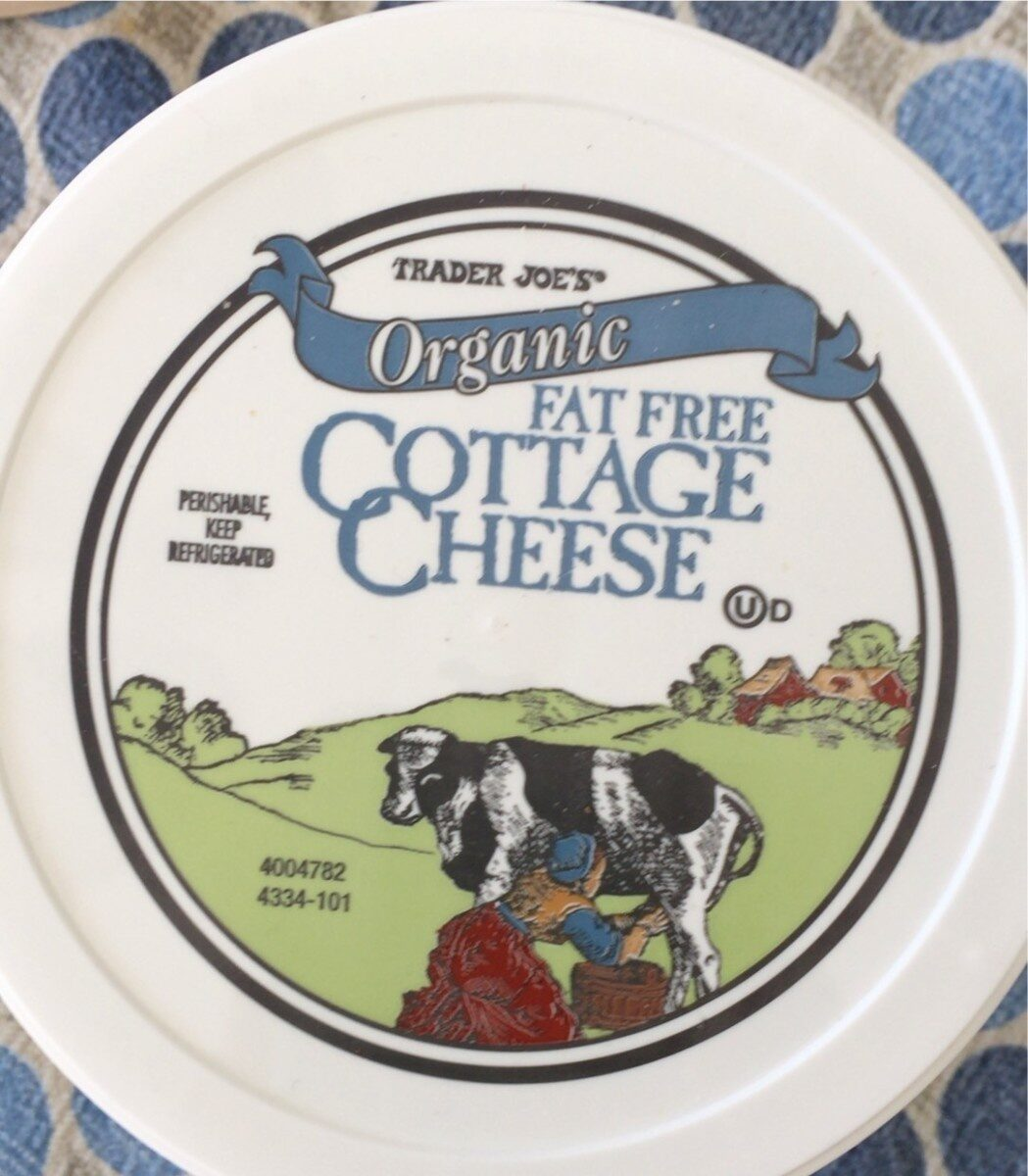 Fat free cottage cheese - Product - en
